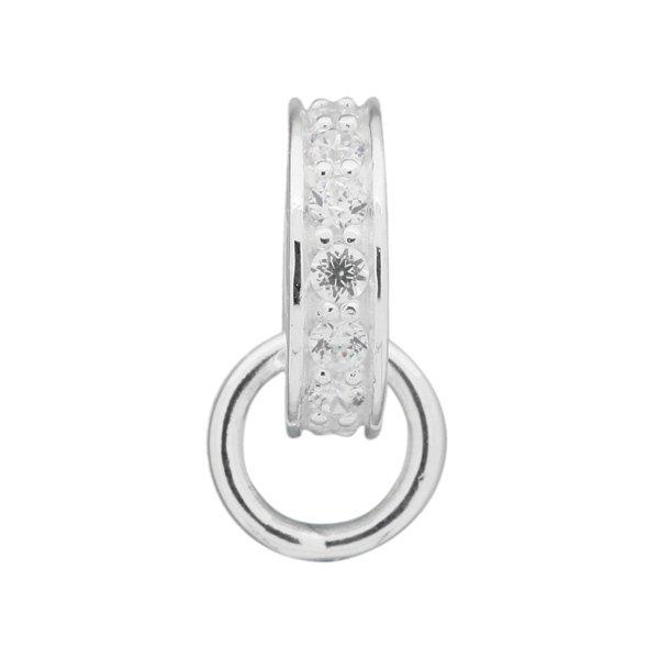 Thomas Sabo Glam & Soul Silver Cubic Zirconia Carrier Charm