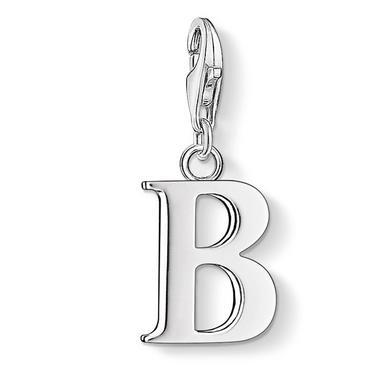 Thomas Sabo Silver Letter B Charm