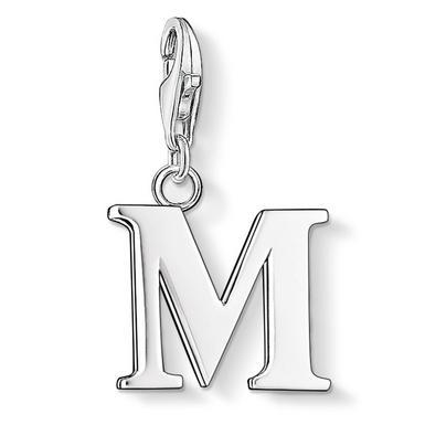 Thomas Sabo Generation Charm Club Silver Letter M Charm