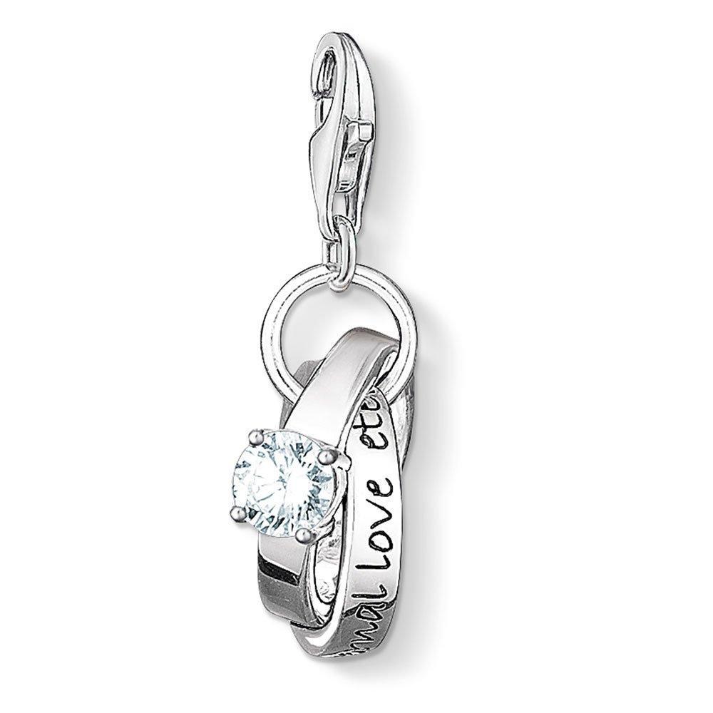 Thomas Sabo Generation Charm Club Silver Wedding Rings Charm