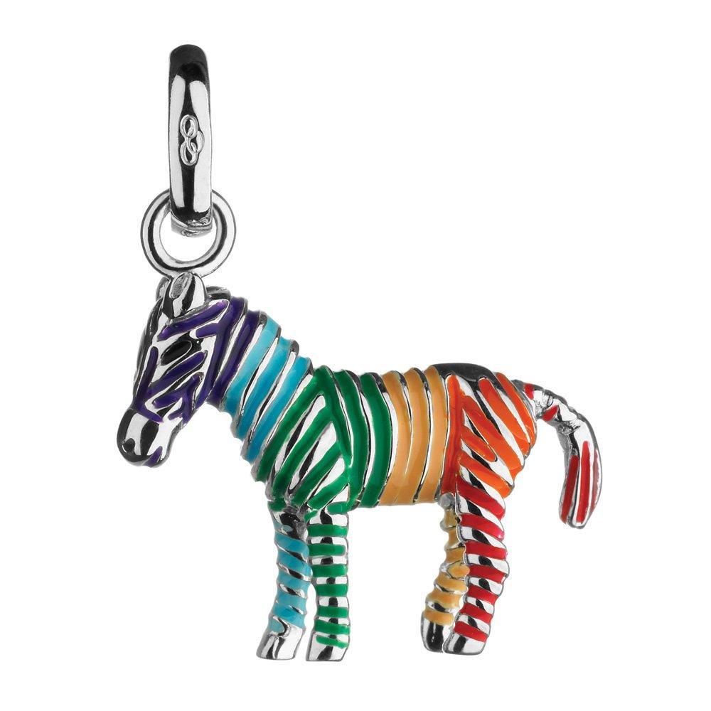 Links of London Enamel Rainbow Zebra Charm