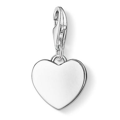 Thomas Sabo Generation Charm Club Love & Friendship Silver Heart Charm