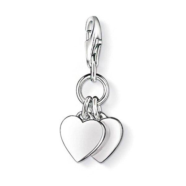 Thomas Sabo Generation Charm Club Love & Friendship Hearts Charm