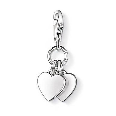 Thomas Sabo Generation Charm Club Love & Friendship Hearts Charm