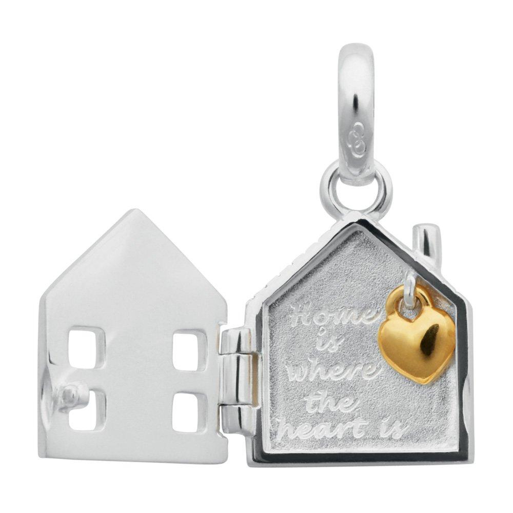 Links of London Silver Home Is Where The Heart Is Charm