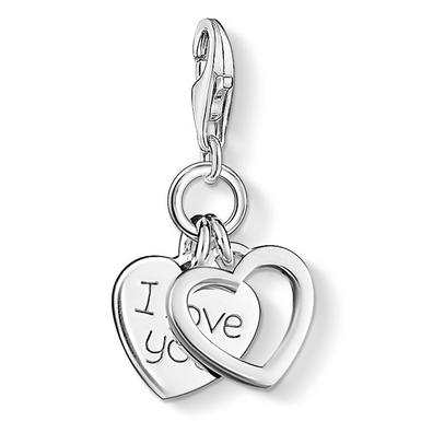 Thomas Sabo Generation Charm Club Love & Friendship Silver I Love You Charm