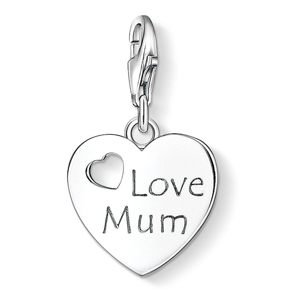 Thomas Sabo Generation Charm Club Silver Love Mum Charm
