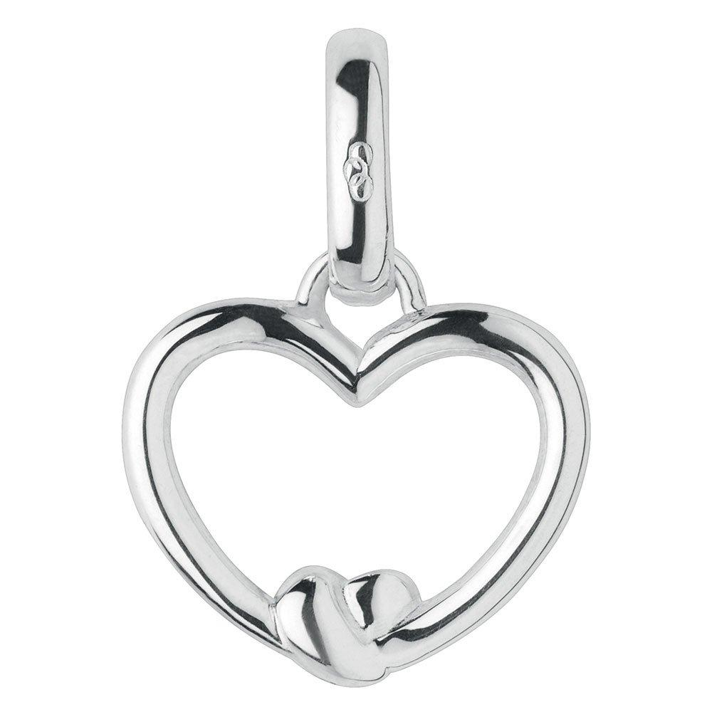 Links of London Tie the Knot Silver Heart Charm