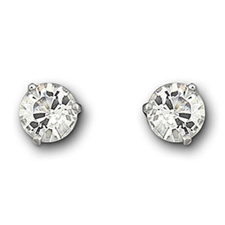Swarovski Solitaire Crystal Stud Earrings