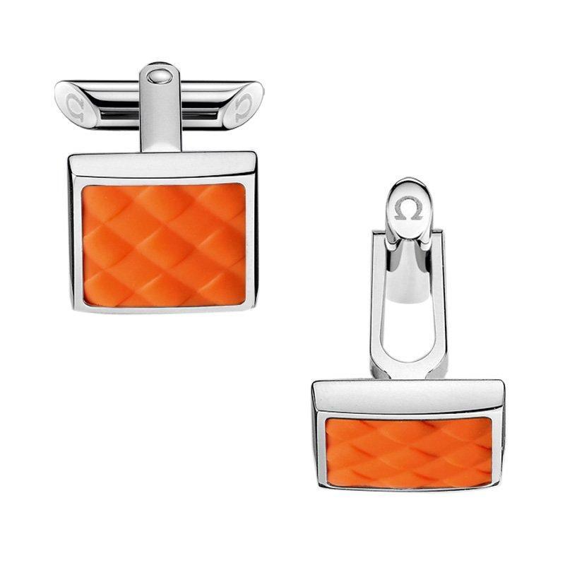 OMEGA Aqua Orange Cufflinks