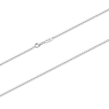 Thomas Sabo Charm Club Silver Curb Chain 45cm