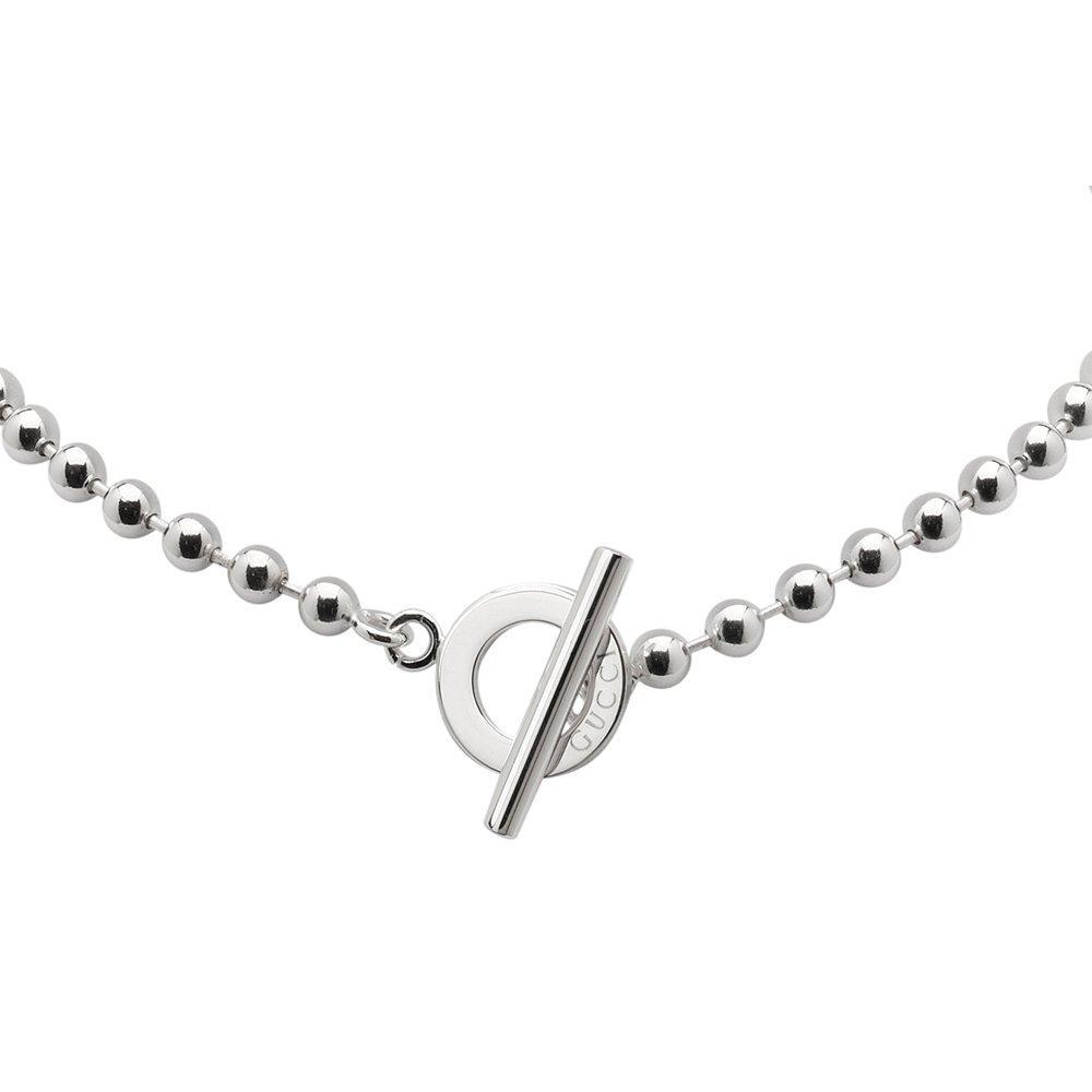 Gucci Boule Silver Necklace