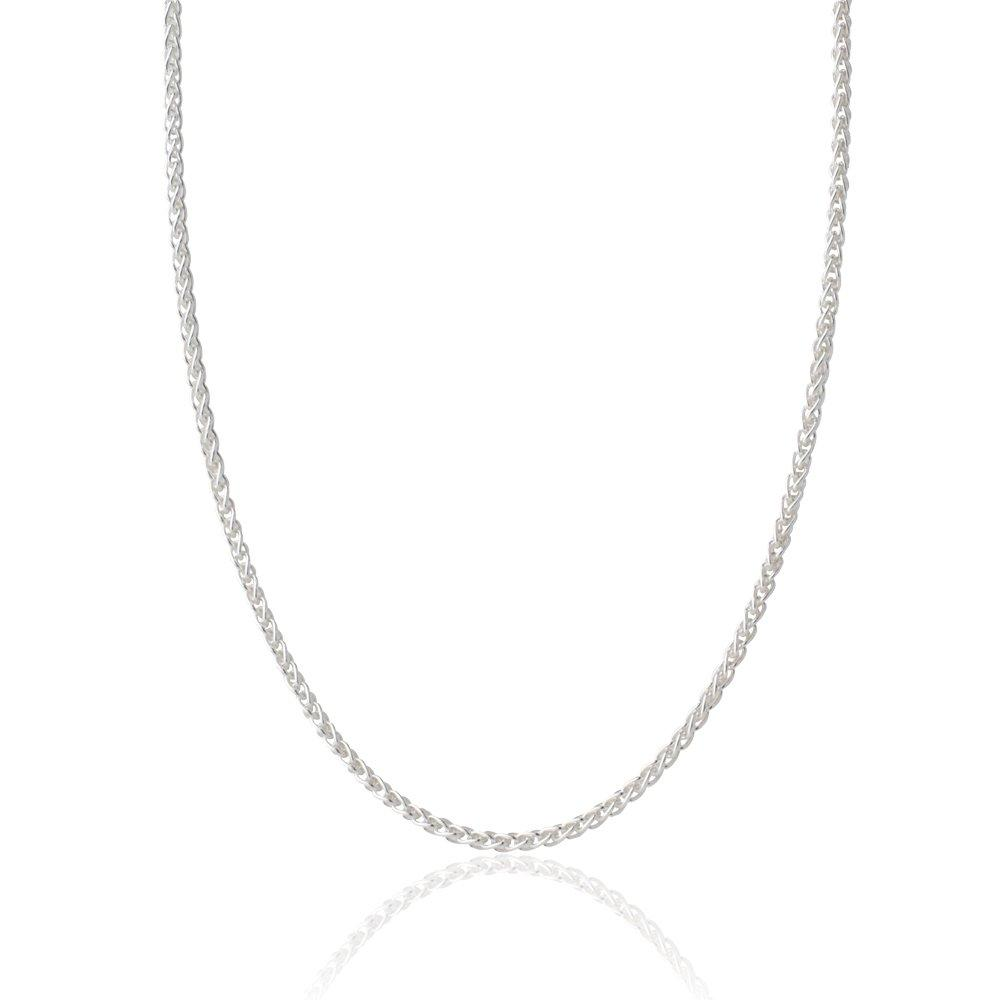 Silver Spiga Chain 40cm