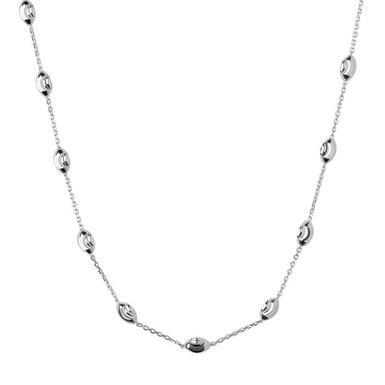 Links of London Silver Beaded Chain Necklace