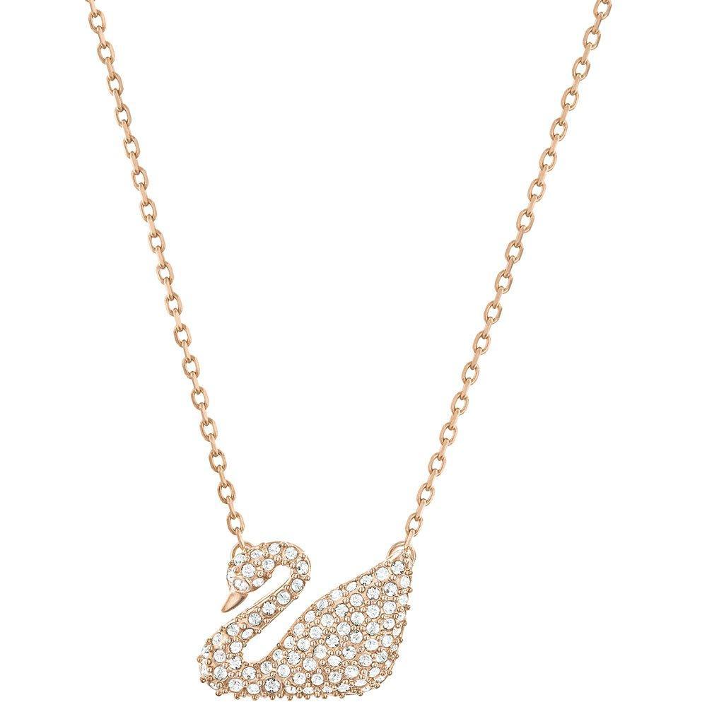 Swarovski Plated Swan Crystal Necklace