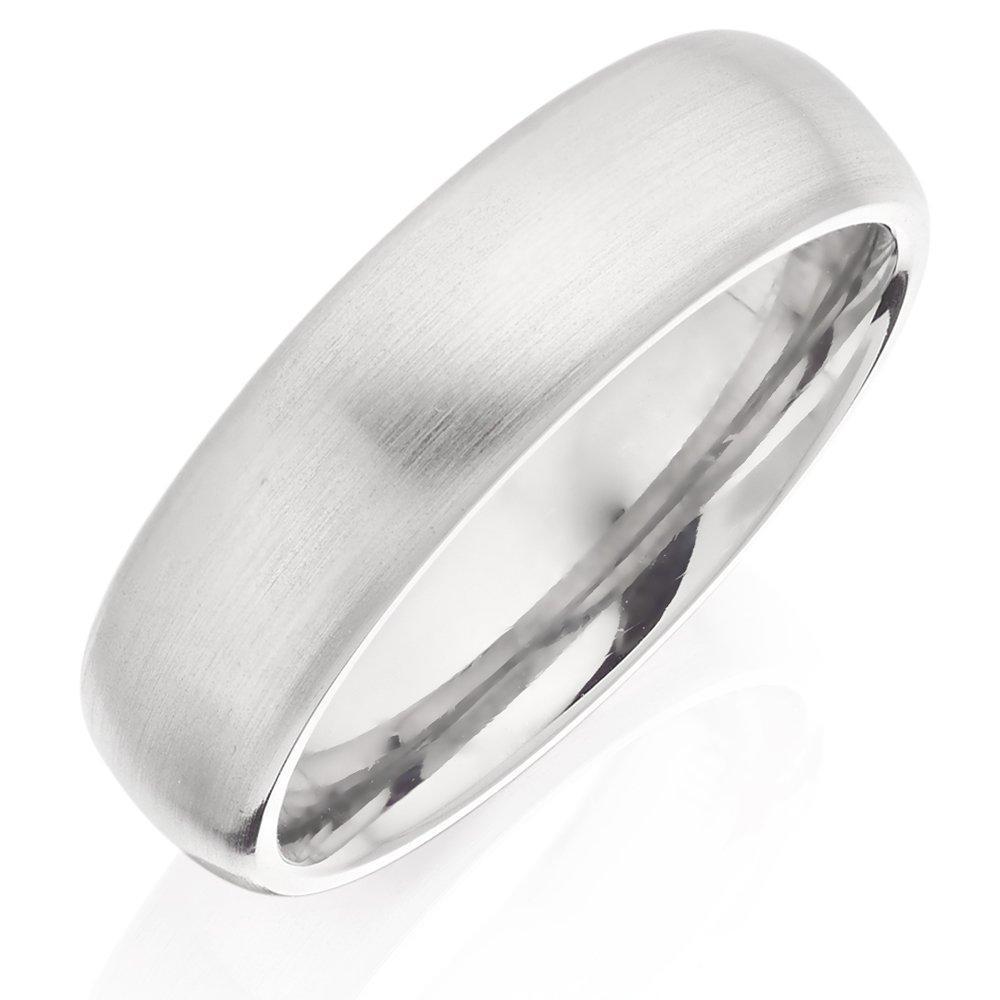 Titanium Brushed Men's Ring