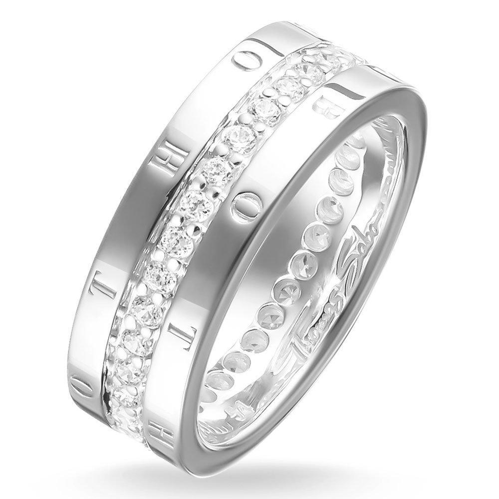 Thomas Sabo Glam & Soul Silver Cubic Zirconia Ring