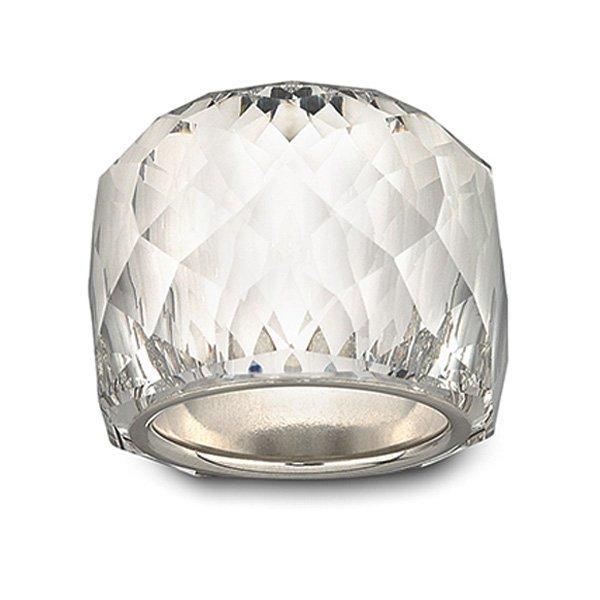 Swarovski Nirvana White Metal Crystal Ring