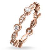 Thomas Sabo Glam & Soul Rose Gold Cubic Zirconia Ring