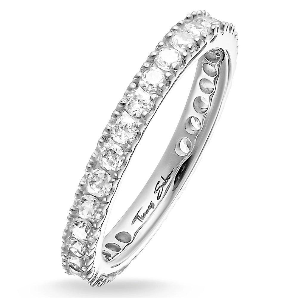 Thomas Sabo Glam & Soul silver Cubic Zirconia Ring