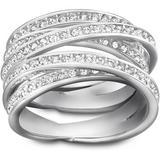 Swarovski Spiral Crystal Ring