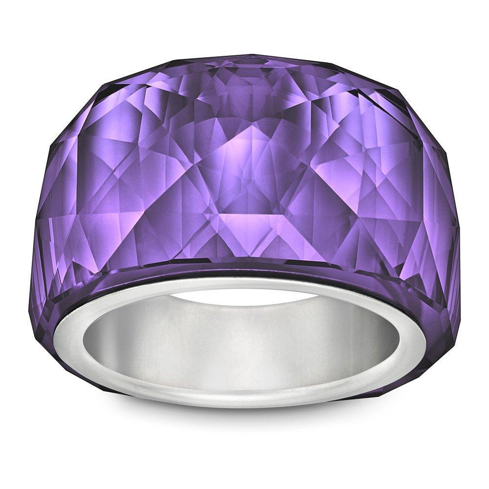 Swarovski Nirvana Purple Velvet Petite Crystal Ring