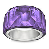 Swarovski Nirvana Purple Velvet Petite Crystal Ring