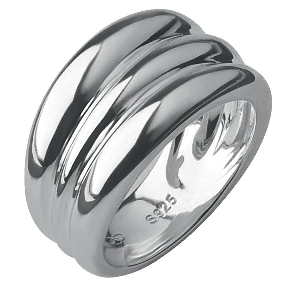 Links of London Hope Triple Stack Silver Ring