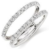 Platinum Diamond Silhouette Ring