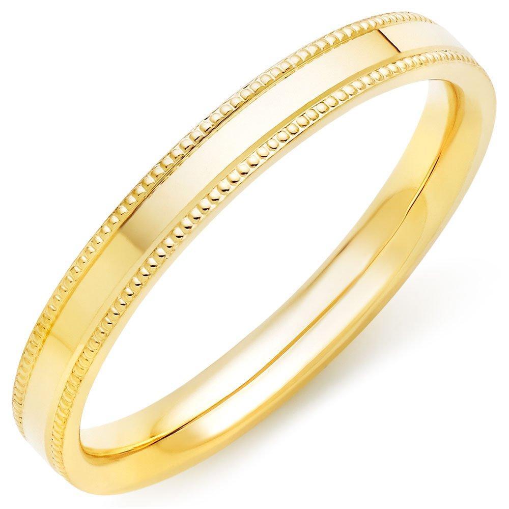 18ct Gold Vintage Ladies Wedding Ring