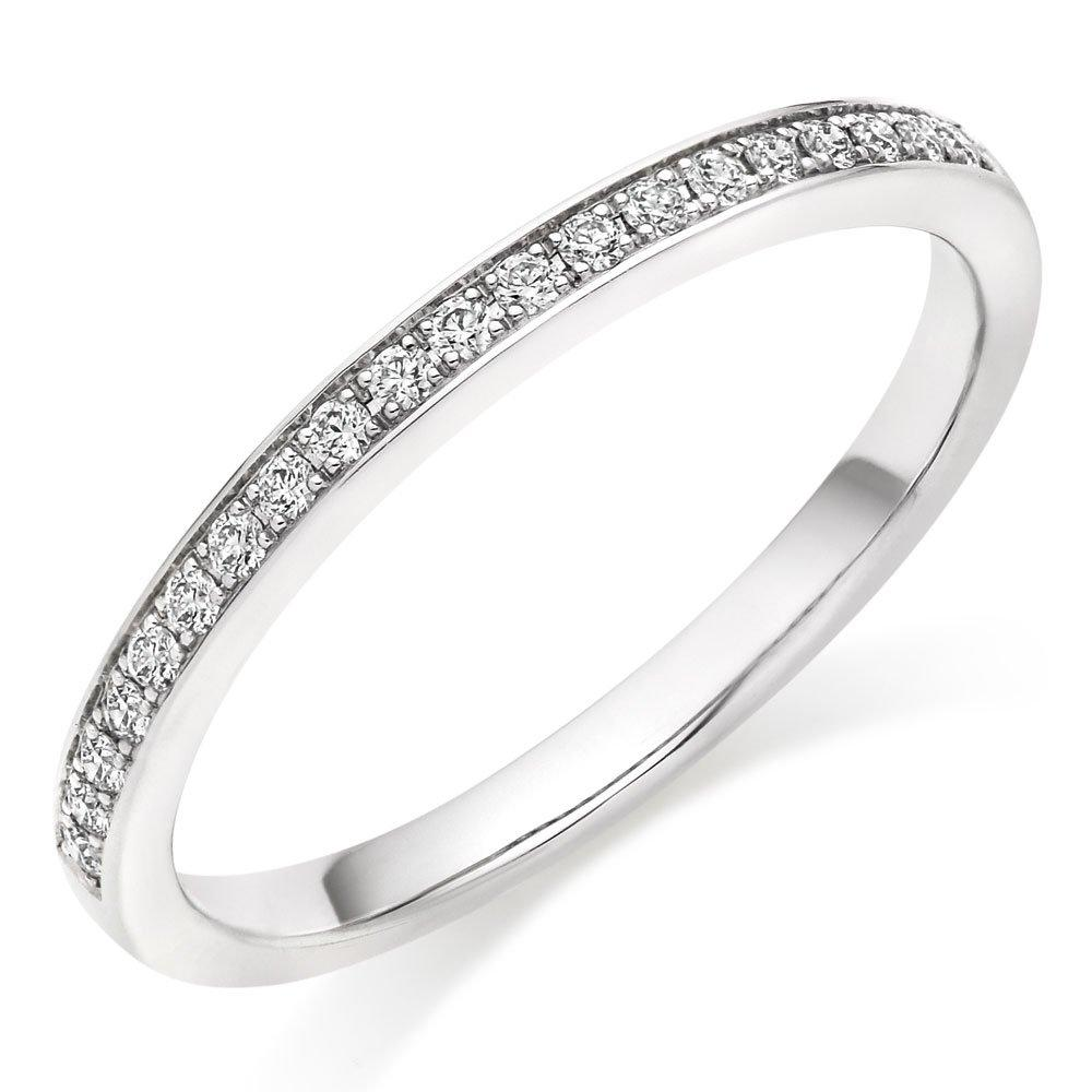 Hearts On Fire Illustrious Platinum Diamond Wedding Ring
