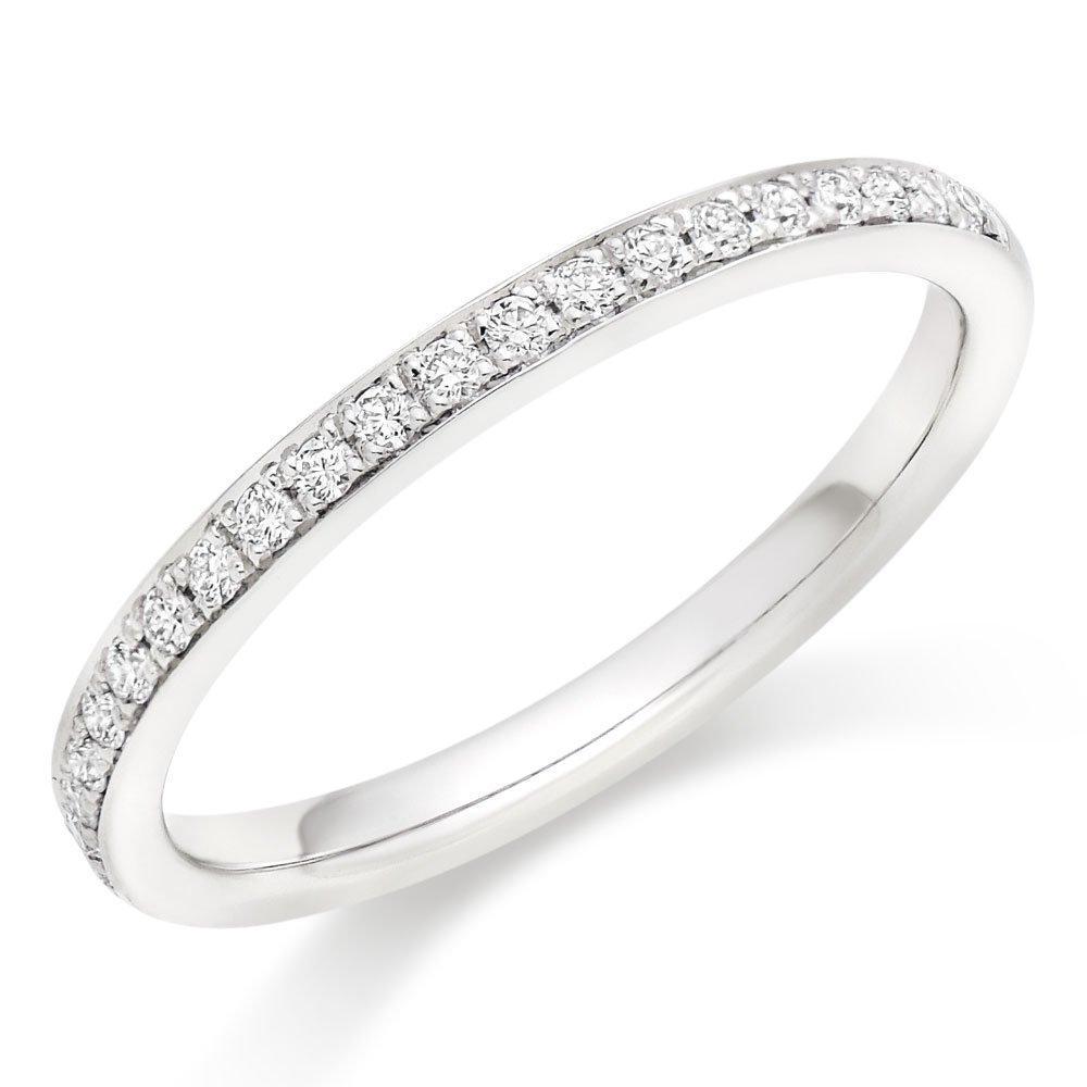Hearts On Fire Signature Platinum Diamond Wedding Ring