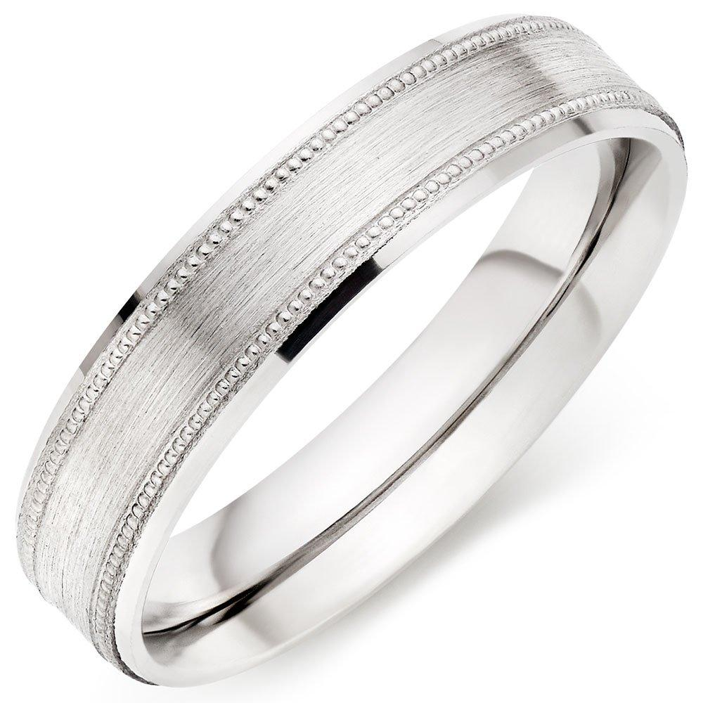 Palladium 950 5mm Men's Wedding Ring