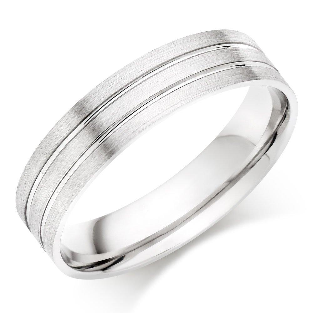 Platinum Fancy Men's Wedding Ring
