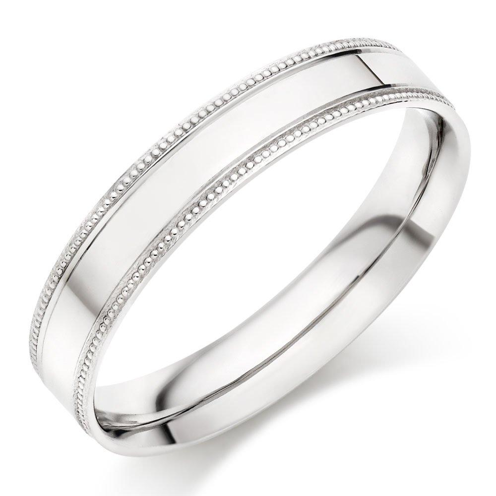 Platinum Vintage Men's Wedding Ring