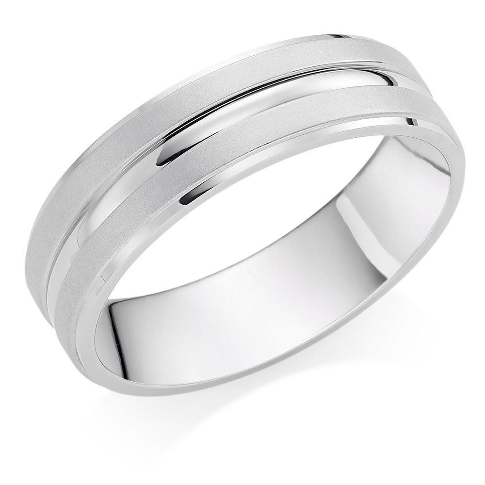 Palladium 6mm Men's Wedding Ring