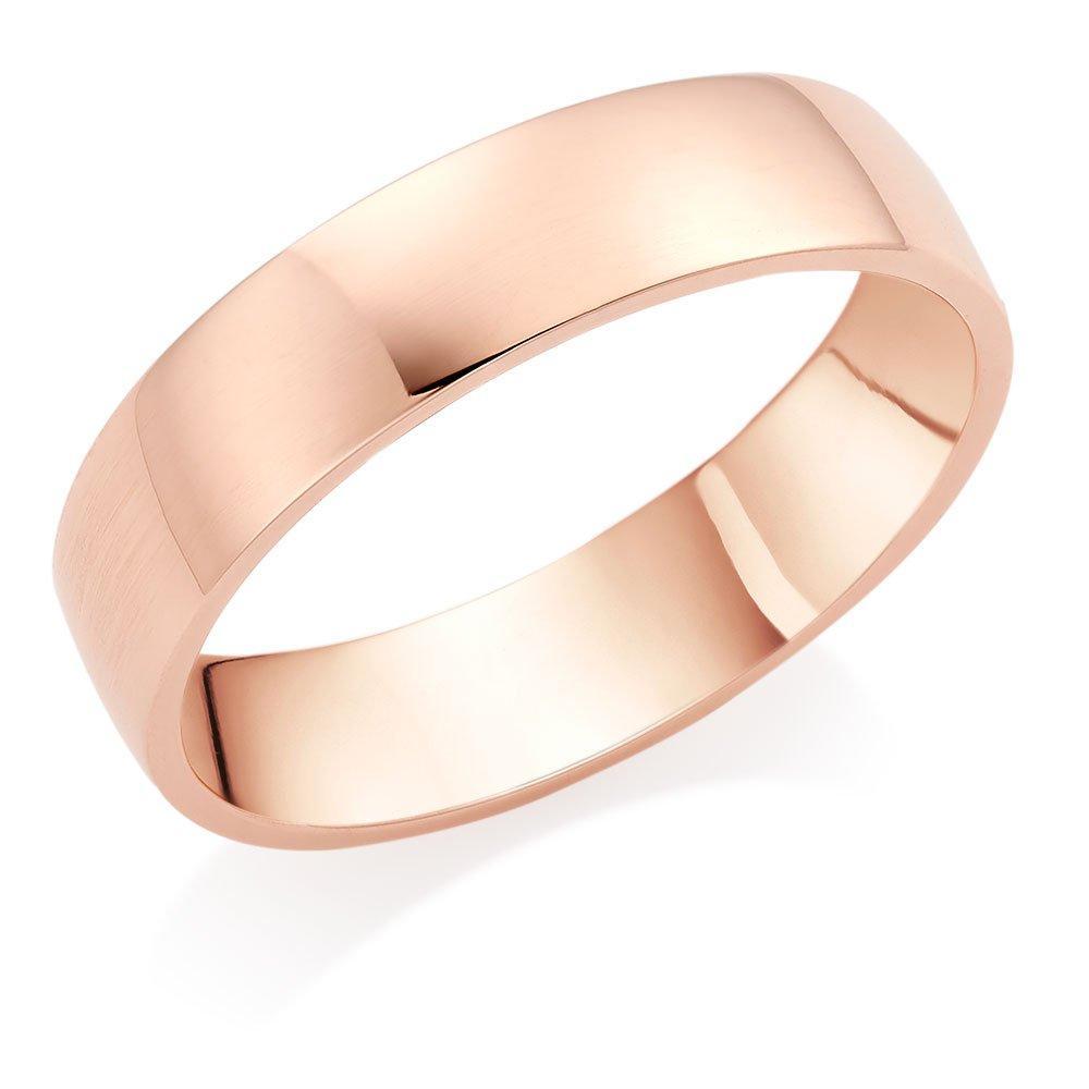 9ct Rose Gold Men's Wedding Ring