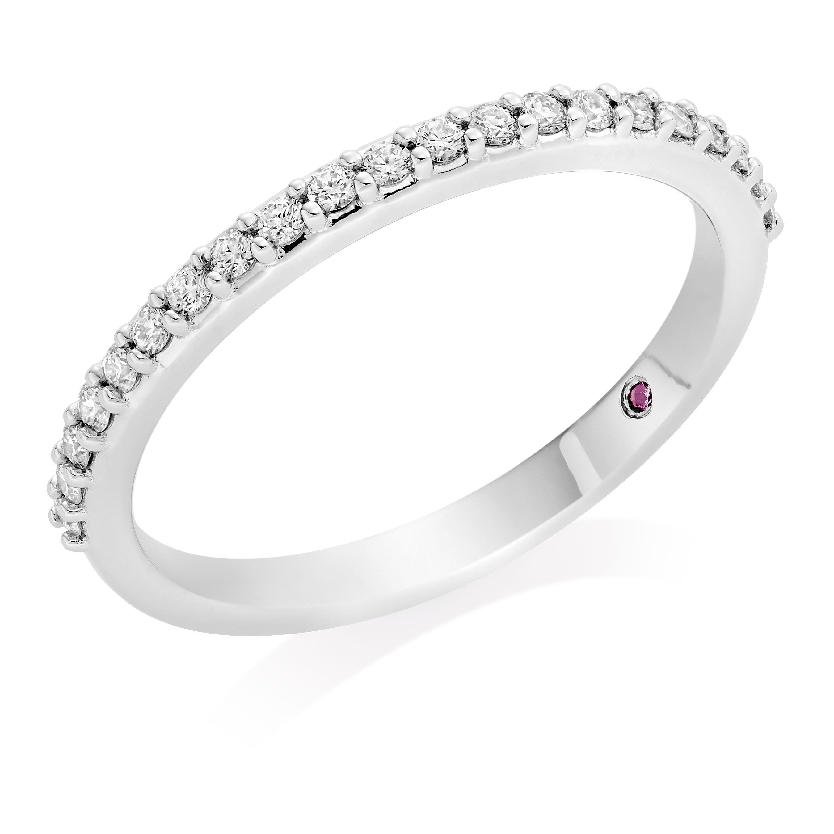 Hearts On Fire Hayley Paige Behati Platinum Diamond Wedding Ring