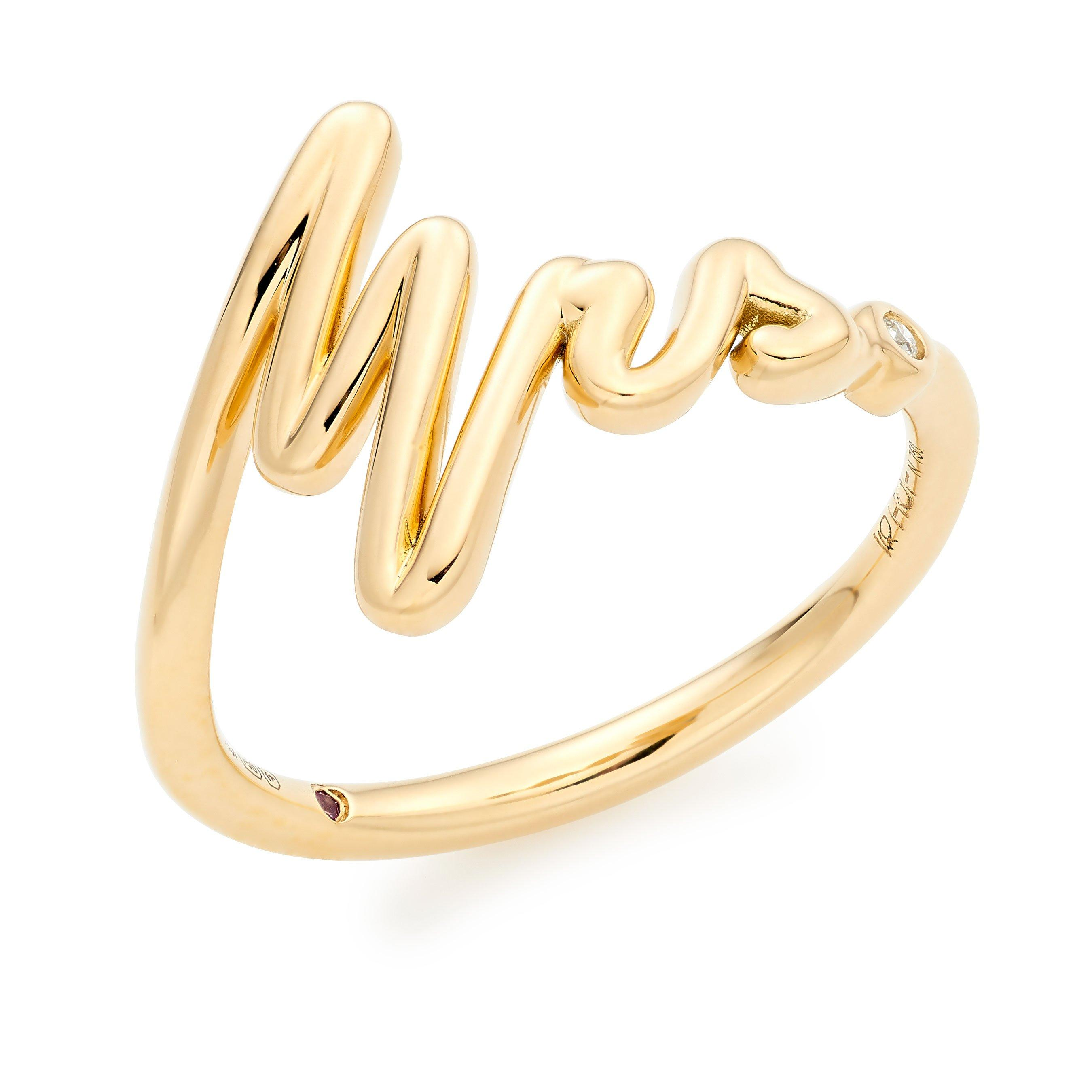 Hearts On Fire Hayley Paige Love Code 18ct Gold Mrs Ring
