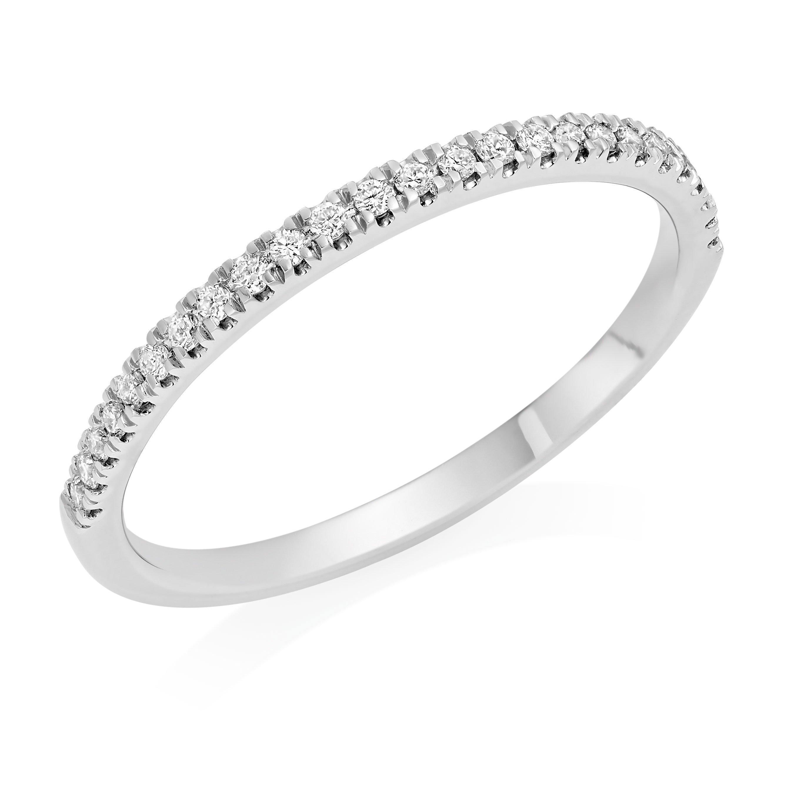 Royal Asscher AlicePlatinum Diamond Wedding Ring
