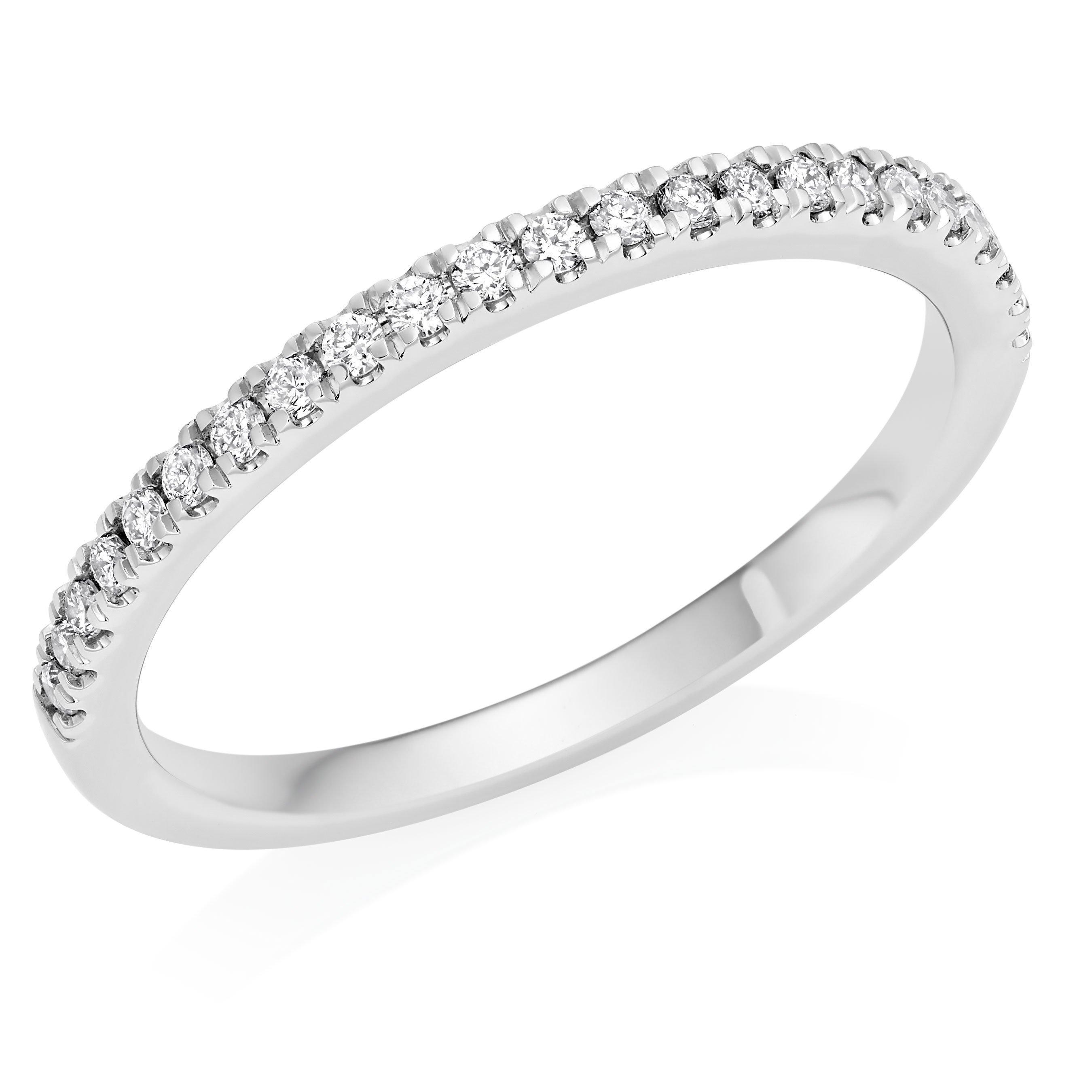Royal Asscher AnnePlatinum Diamond Wedding Ring