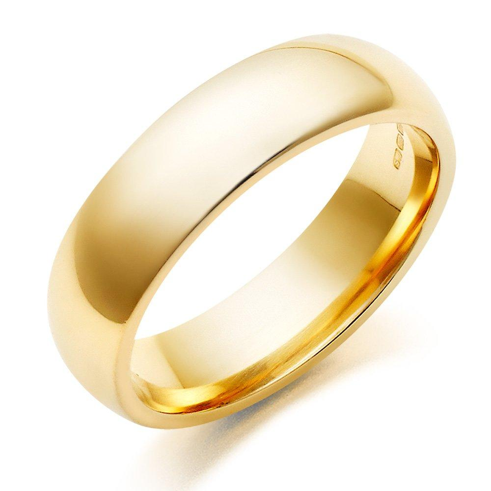 9ct Gold Men's Wedding Ring
