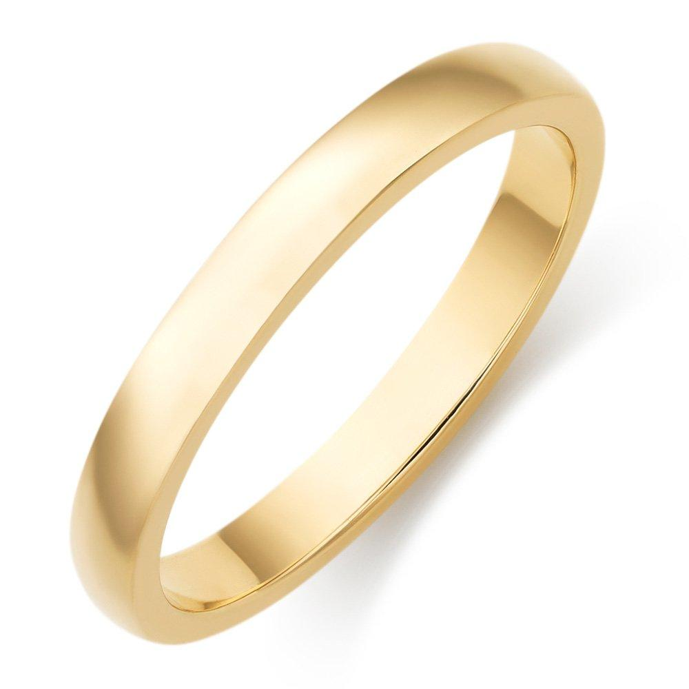 9ct Gold Court Wedding Ring