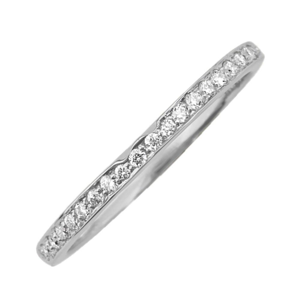 Maple Leaf Diamonds 18ct White Gold Diamond Wedding Ring