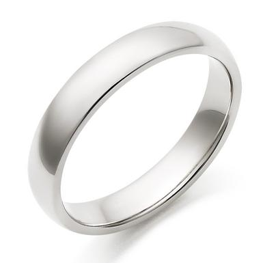 Men's Palladium Plain Wedding Ring