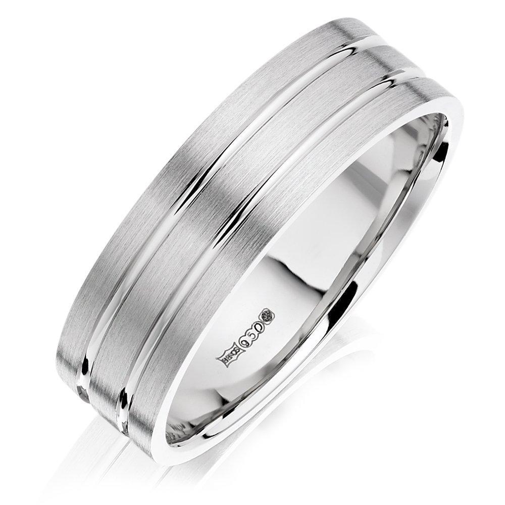 Palladium Men's Wedding Ring