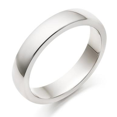 Palladium Court Wedding Ring