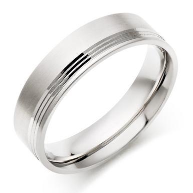 Men's Palladium Wedding Ring