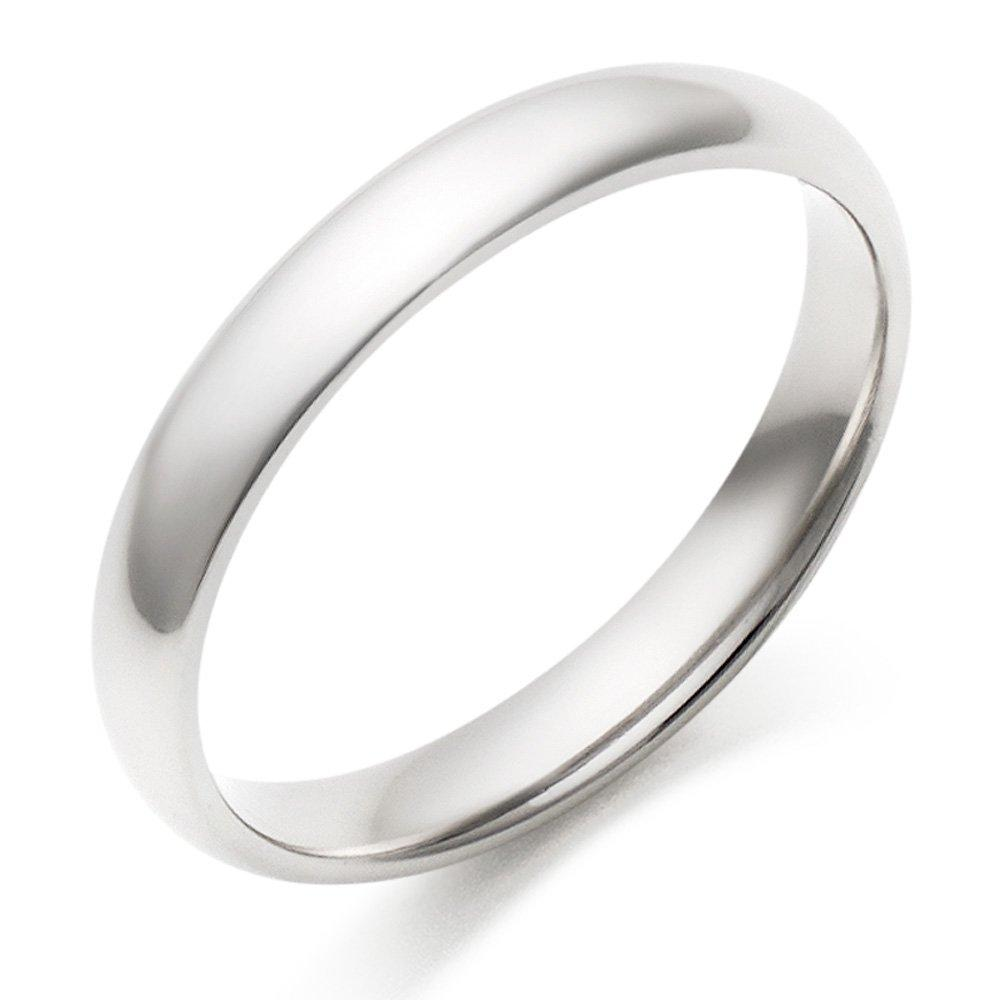 Platinum Court Wedding Ring