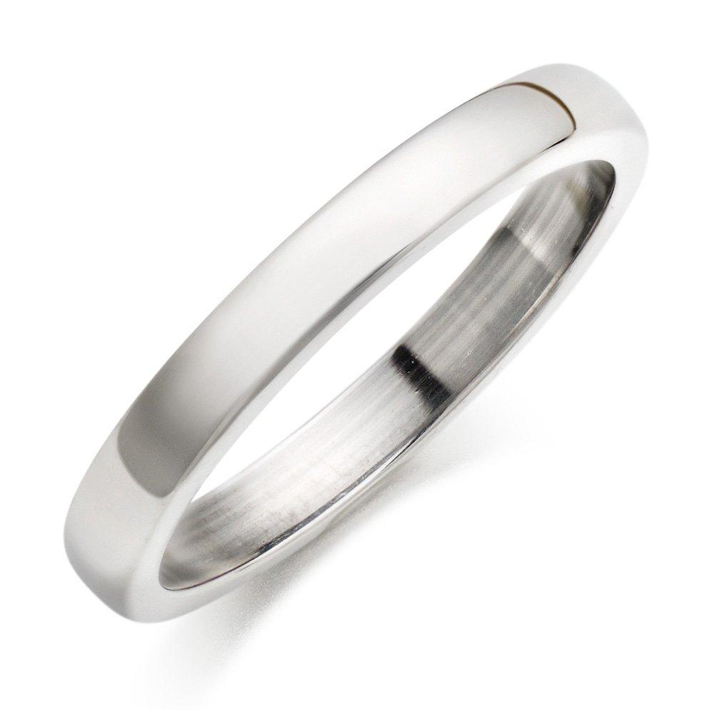 Platinum Court Wedding Ring